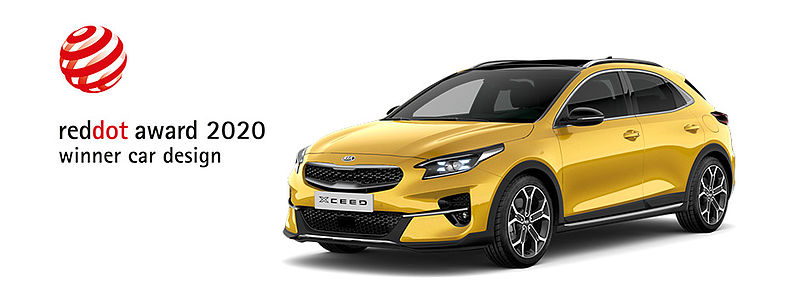 Red Dot Award für den Kia XCeed